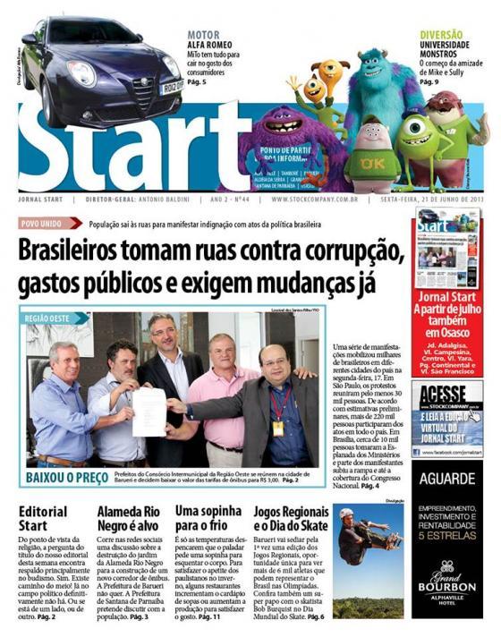 Jornal Start – Coluna Quinzenal – A Família no Apoio Contra as Drogas