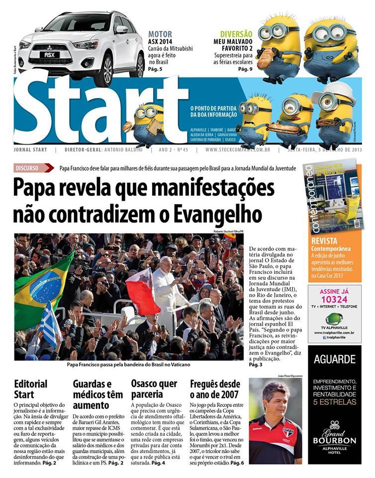 Jornal Start – Coluna Quinzenal – Férias! Curta esse momento