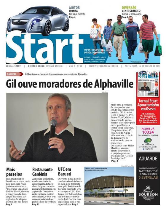 Jornal Start – Coluna Quinzenal – Pai…