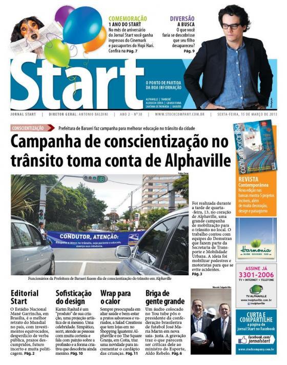 Jornal Start – Coluna Quinzenal – Pare, Reveja e Mude!